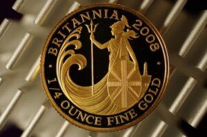 イギリスブリタニア金貨