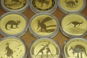オーストラリアのカンガルー金貨