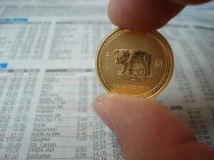 中国の十二支金貨