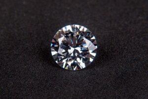 丸く見えるダイヤモンド