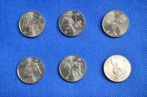 東京オリンピック記念硬貨100円