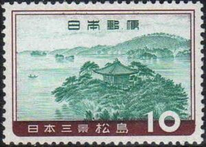 松島 切手